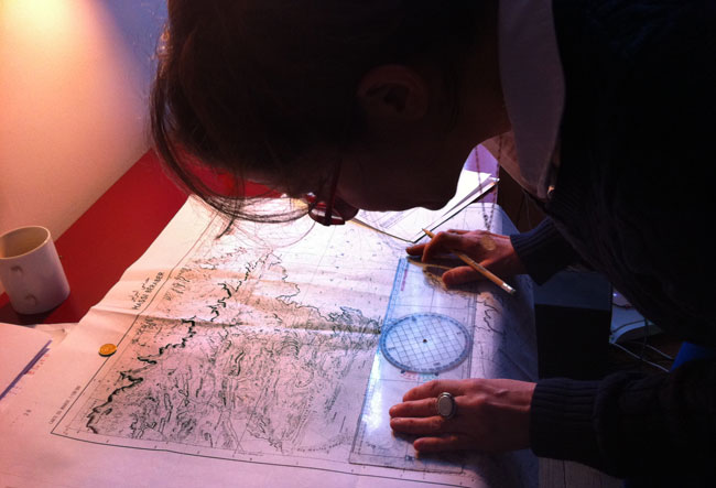 Plotting Routes on the Gazelle Maps