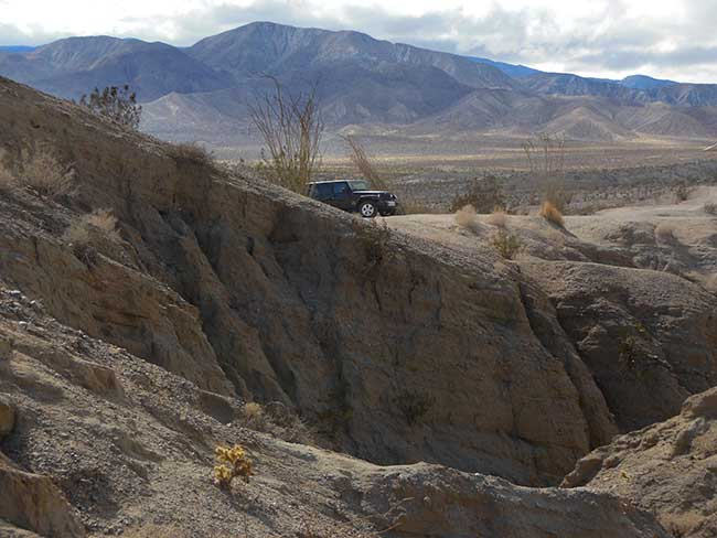 Anza Borrego: Our Jeep on the Edge