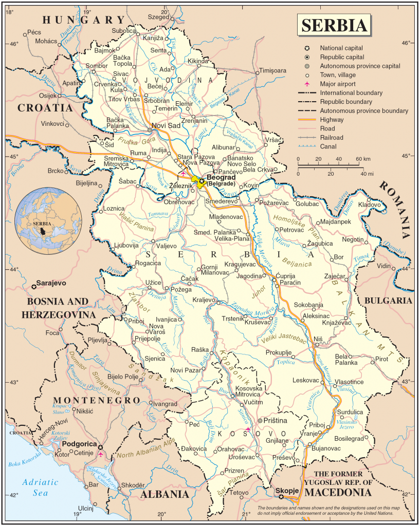 Serbia_Map