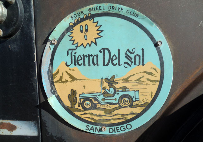 Tierra del Sol Four Wheel Drive Club