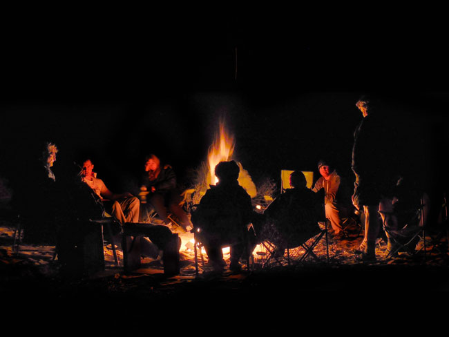 Final campfire