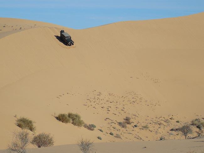 Big dunes, soft sand...