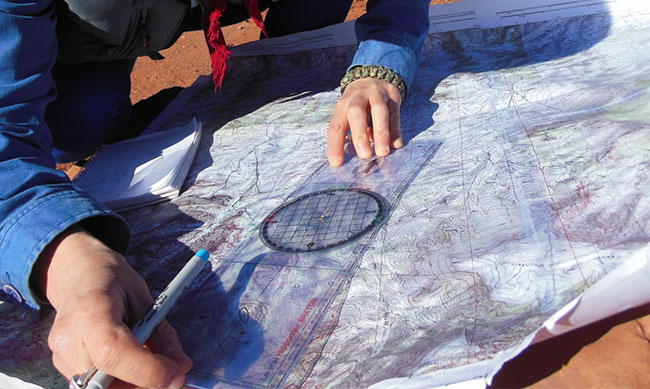 from paper maps to gps and back