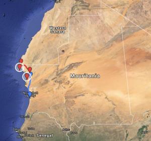 Iwik to Nouadhibou