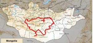 Mongolia Route 2016 -#1